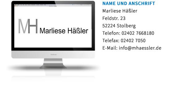 Marliese Haessler_Erstinformation